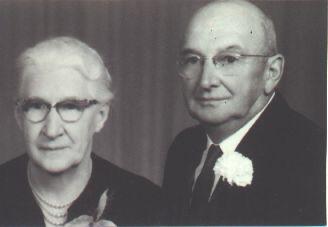 Grandma Rosie and Grandpa Clinton